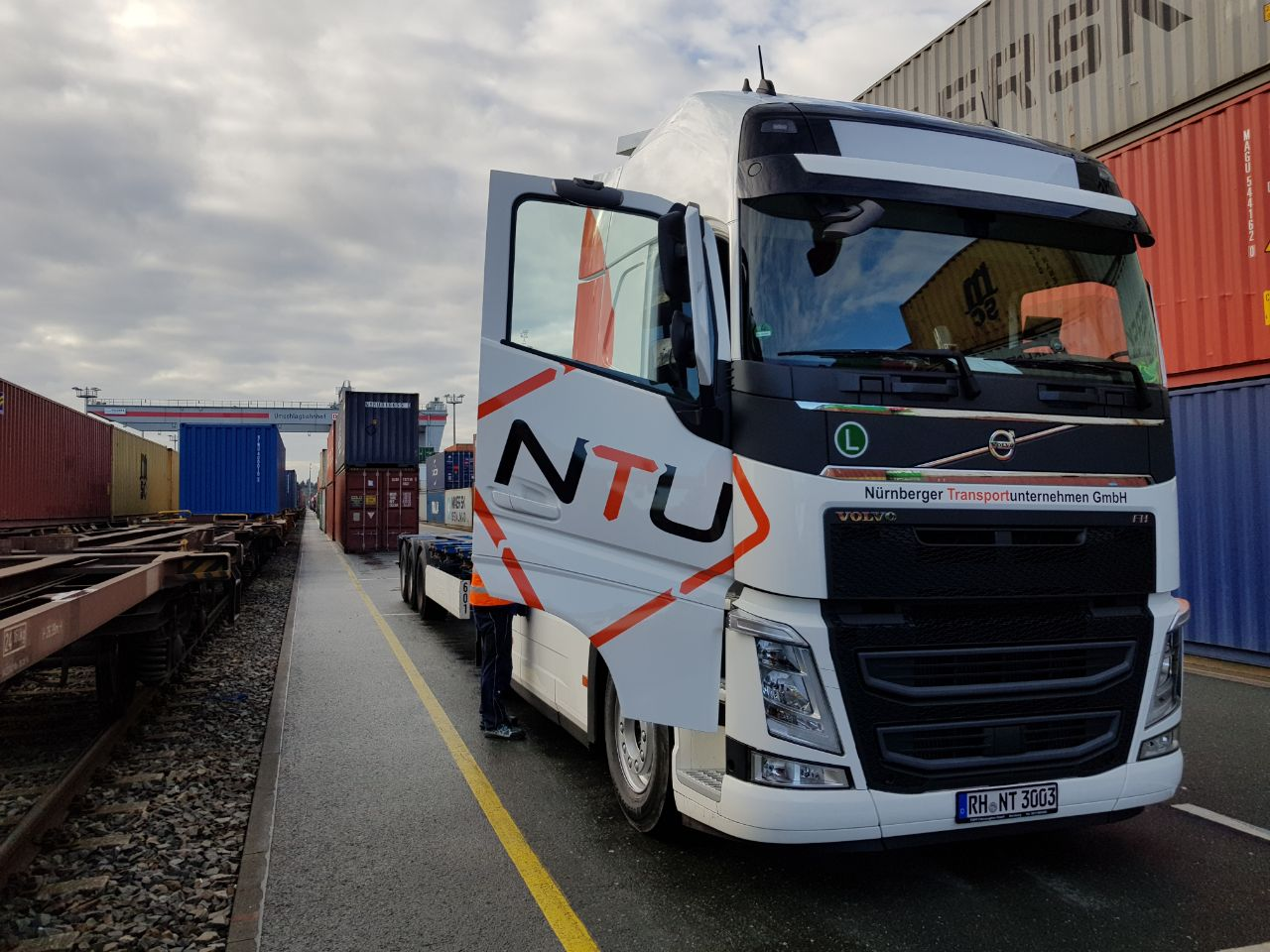 Containertransporte Estland