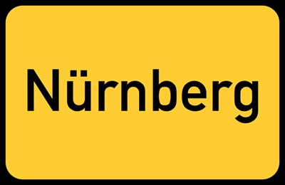 Nürnberg-Transporte-Schild