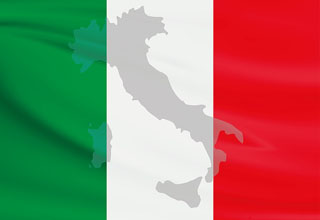 italien-transport-flagge